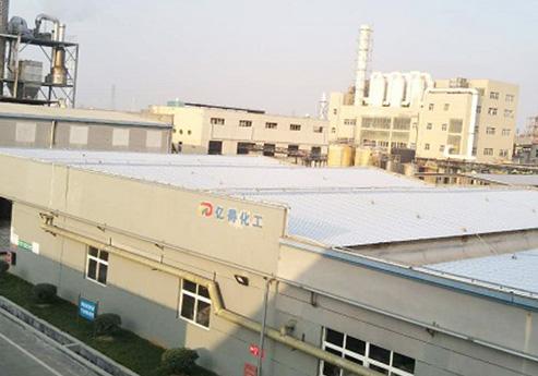 精钢覆膜瓦客户案例之浙江亿得化工有限公司